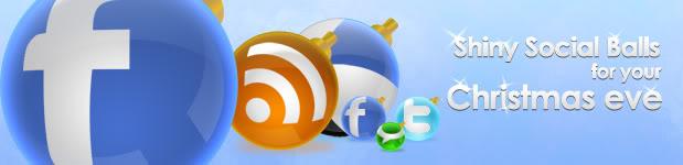 Shiny Social Icon Balls - Zeusbox Studio