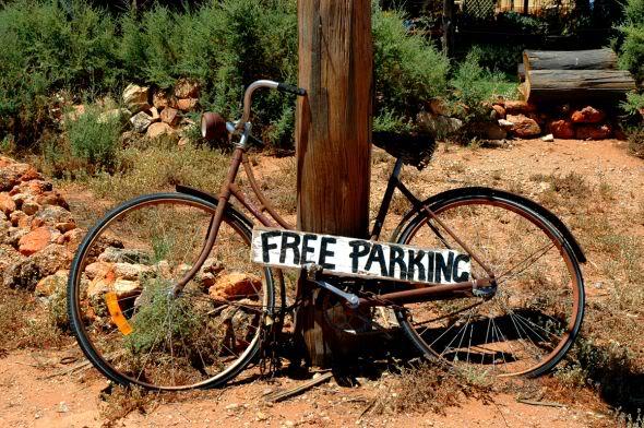 Andar de Bicicleta Enferrujada