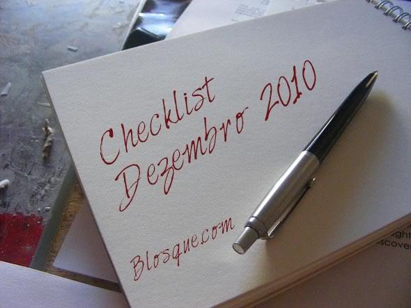 Checklist Para Dezembro