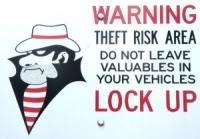 Ladrão - Cuidado!
